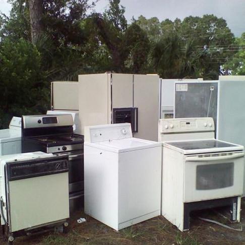 Whiteware disposal